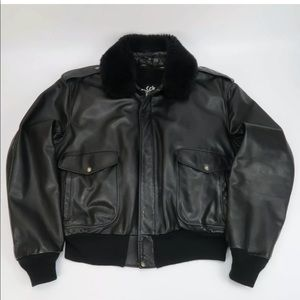 SCHOTT 184SM A-2 Leather Flight Bomber Jacket